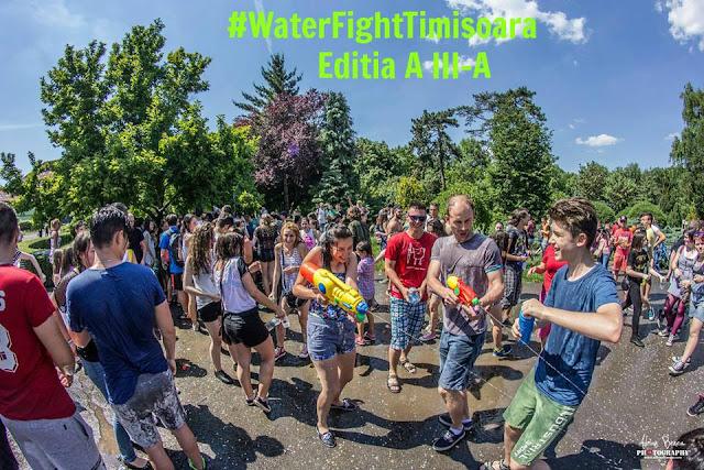 Bataie cu apa, Timisoara (Editia a III-a) - 17 iunie 2016