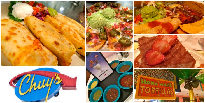 Exquisite Tex Mex Food from Chuys - all fresh EVERYDAY!