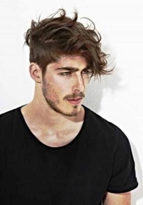 potongan model rambut panjang pria tahun 2015