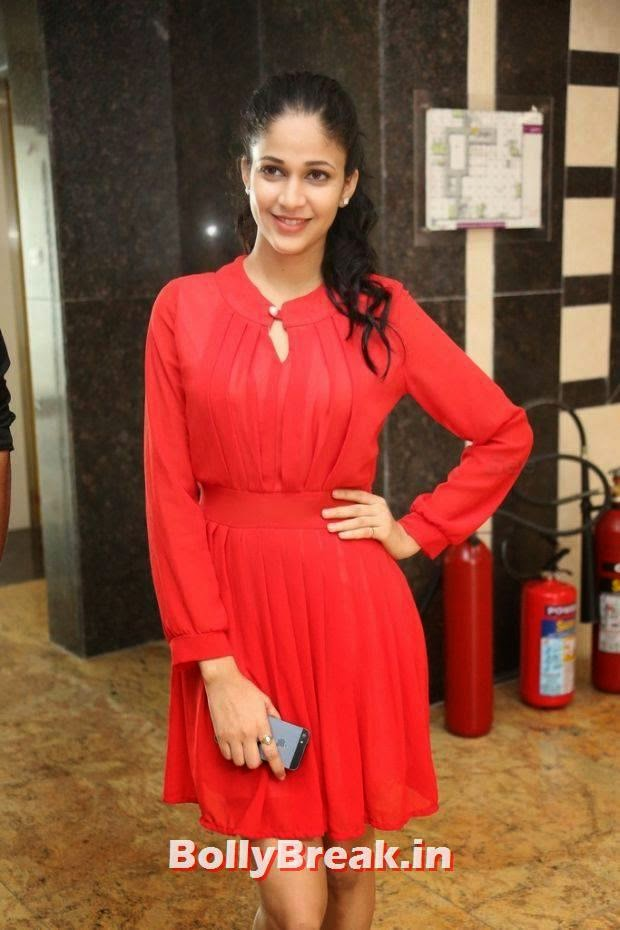 , Lavanya Tripathi Hot HD Photos in Red Dress