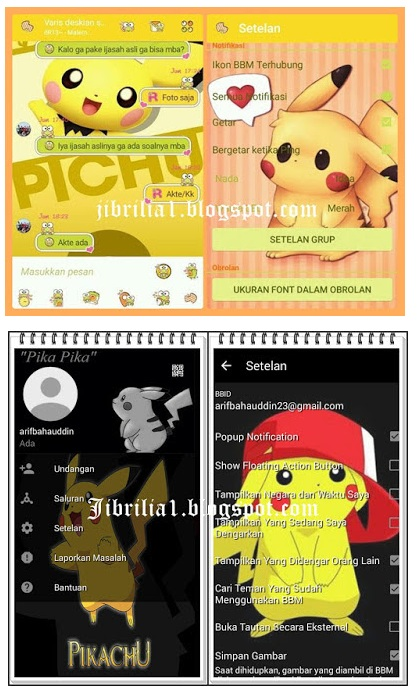 BBM Pikachu