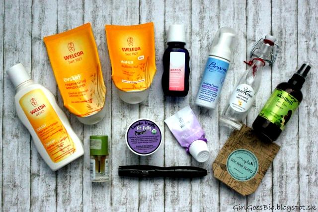 Natural products Weleda Alverde Akamuti Mylo Soaphoria Bubble and Bee Beyond Organic