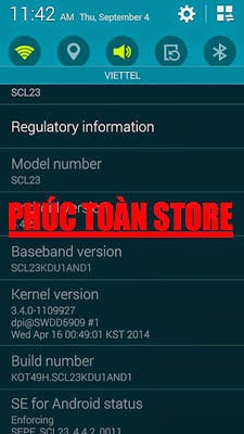 Galaxy S5 SCL23 Unlock done alt