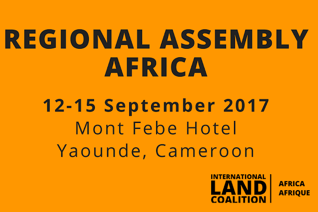 international land coalition cameroon yaounde tenure distribution women youths africa