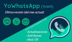 Descargar YoWhatsapp v9.10 | Última versión APK (2020) 🥇