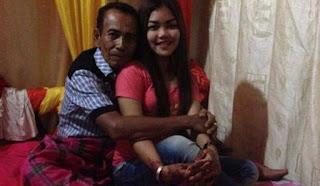 Kakek 63 tahun ini nikahi gadis
