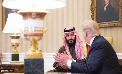 ترامب وولي عهد السعودية