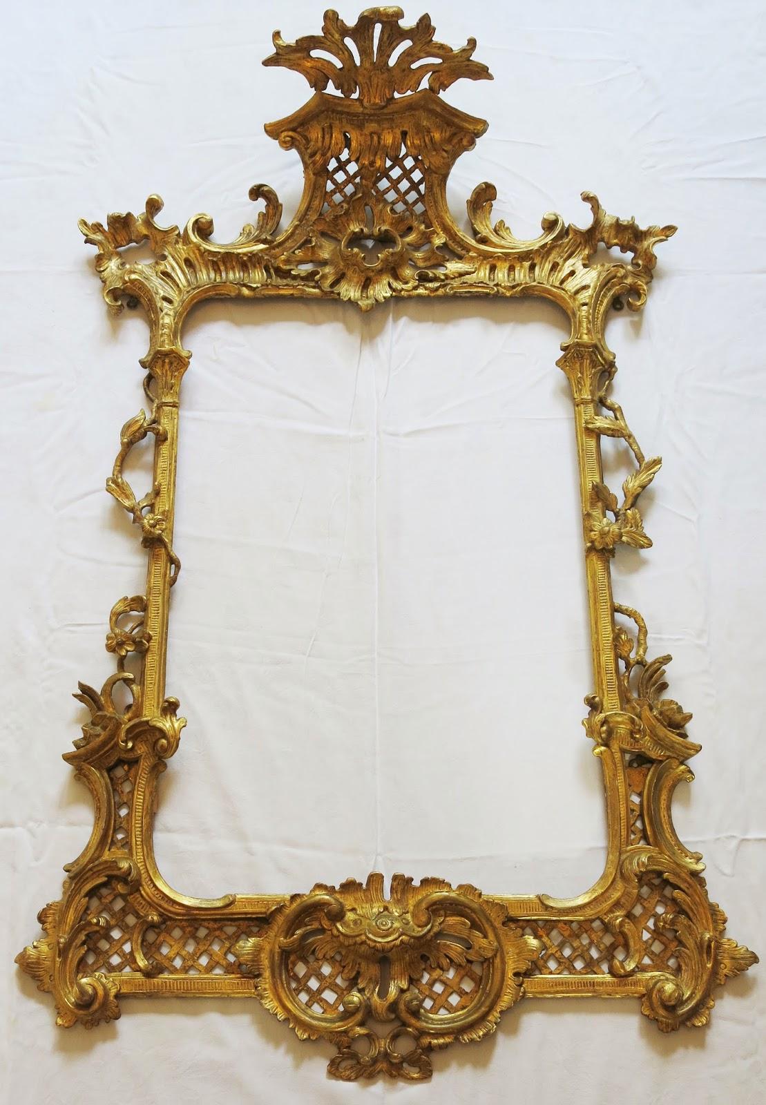 Original Gilding London Broken Gilded Mirror Frames