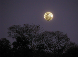 full moon in Puriscal