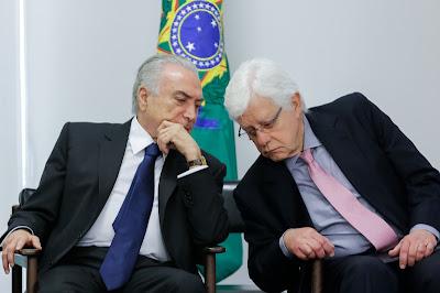 Temer e Moreira Franco