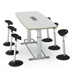 Height Adjustable Conference Table - Focal Confluence by Safco