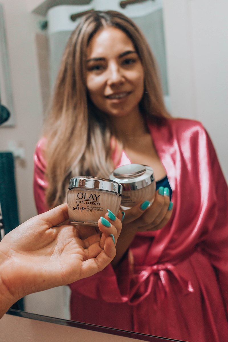 review of Olay Whip with SPF 25, beauty blogger, skincare blogger