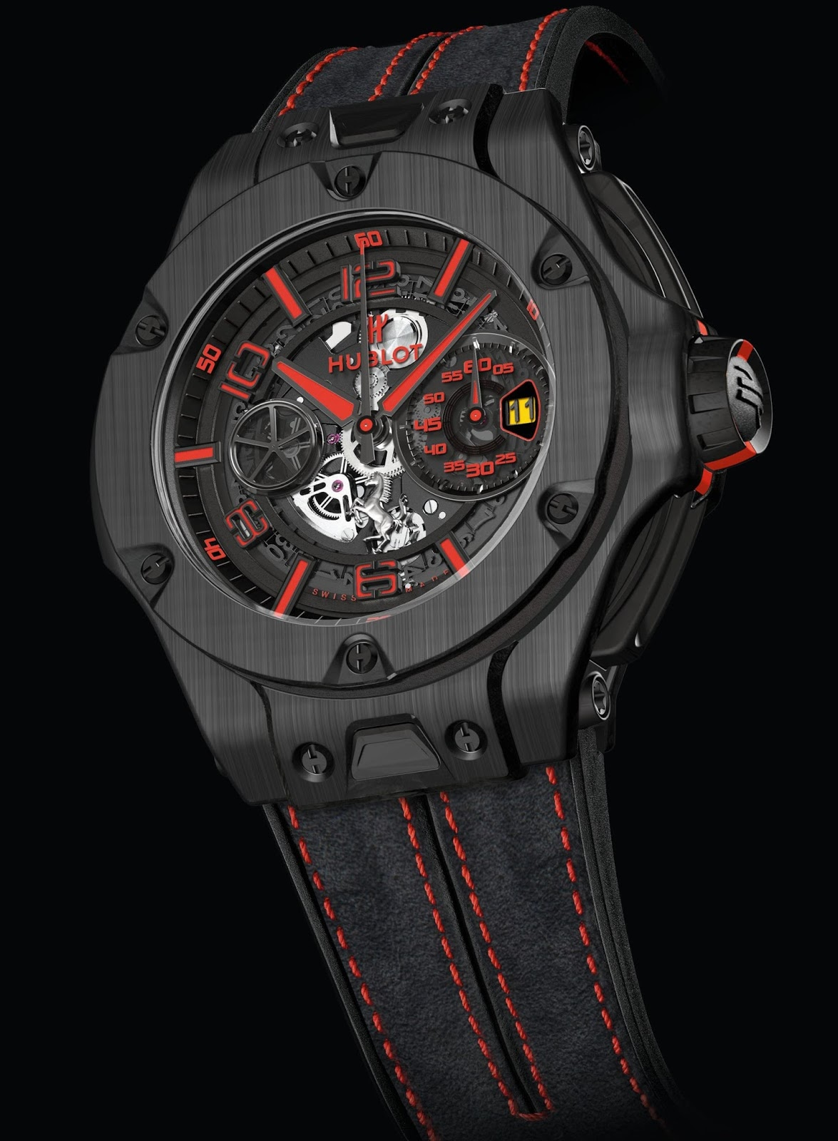 neue uhr hublot big bang ferrari new edition uhrforum. Black Bedroom Furniture Sets. Home Design Ideas