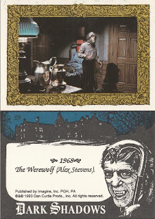 Alex Stevens as the Werewolf from 1993 Dark Shadows set