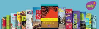 coleção de livros de viagem da Editora Pulp