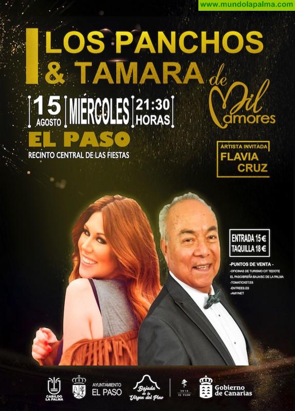 """Concierto de """"LOS PANCHOS & TAMARA de Mil Amores"""" en El Paso"""