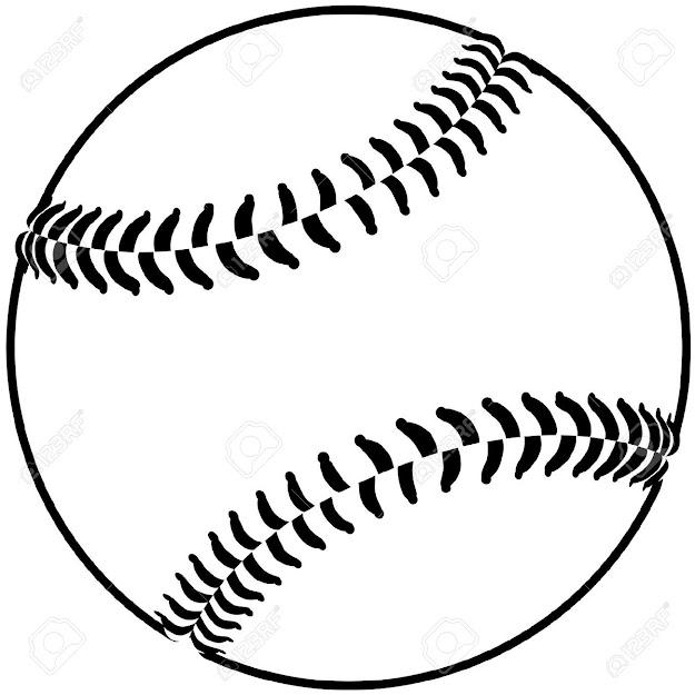 Baseball Image Of Baseball Isolated In White Background
