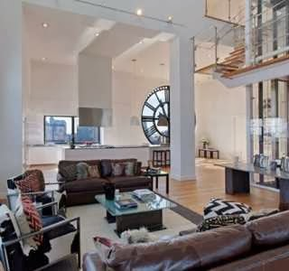 Clock Tower Triplex Apartment in New York picture