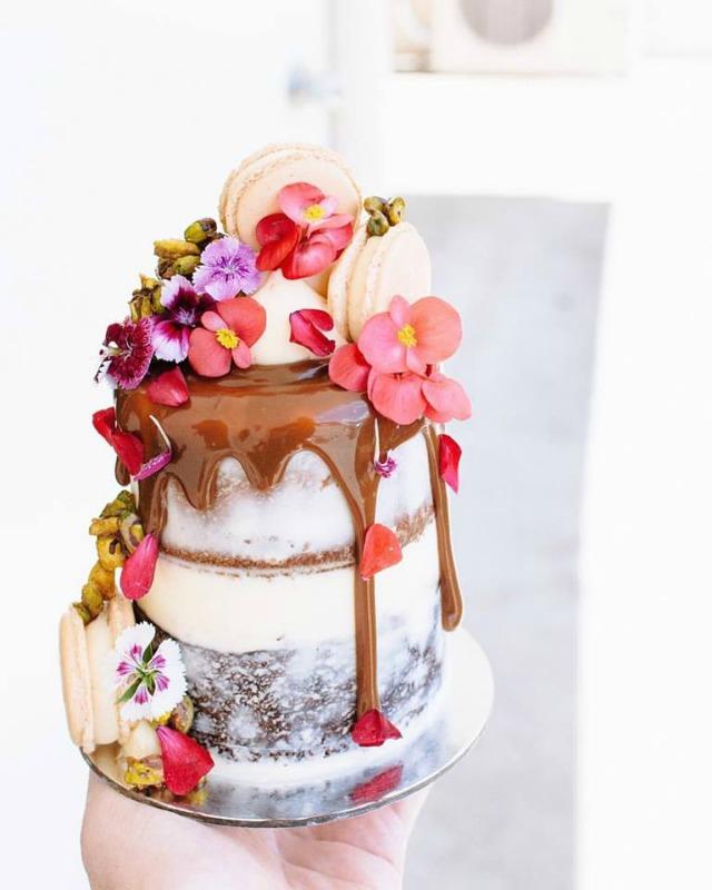 las tartas de boda mas cool de 2016 - Blog Mi Boda - Drip Cake
