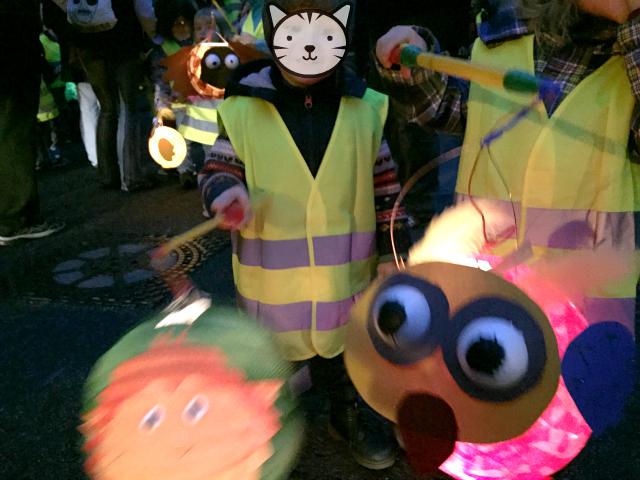 Kugelfisch-Blog: Laternelaufen