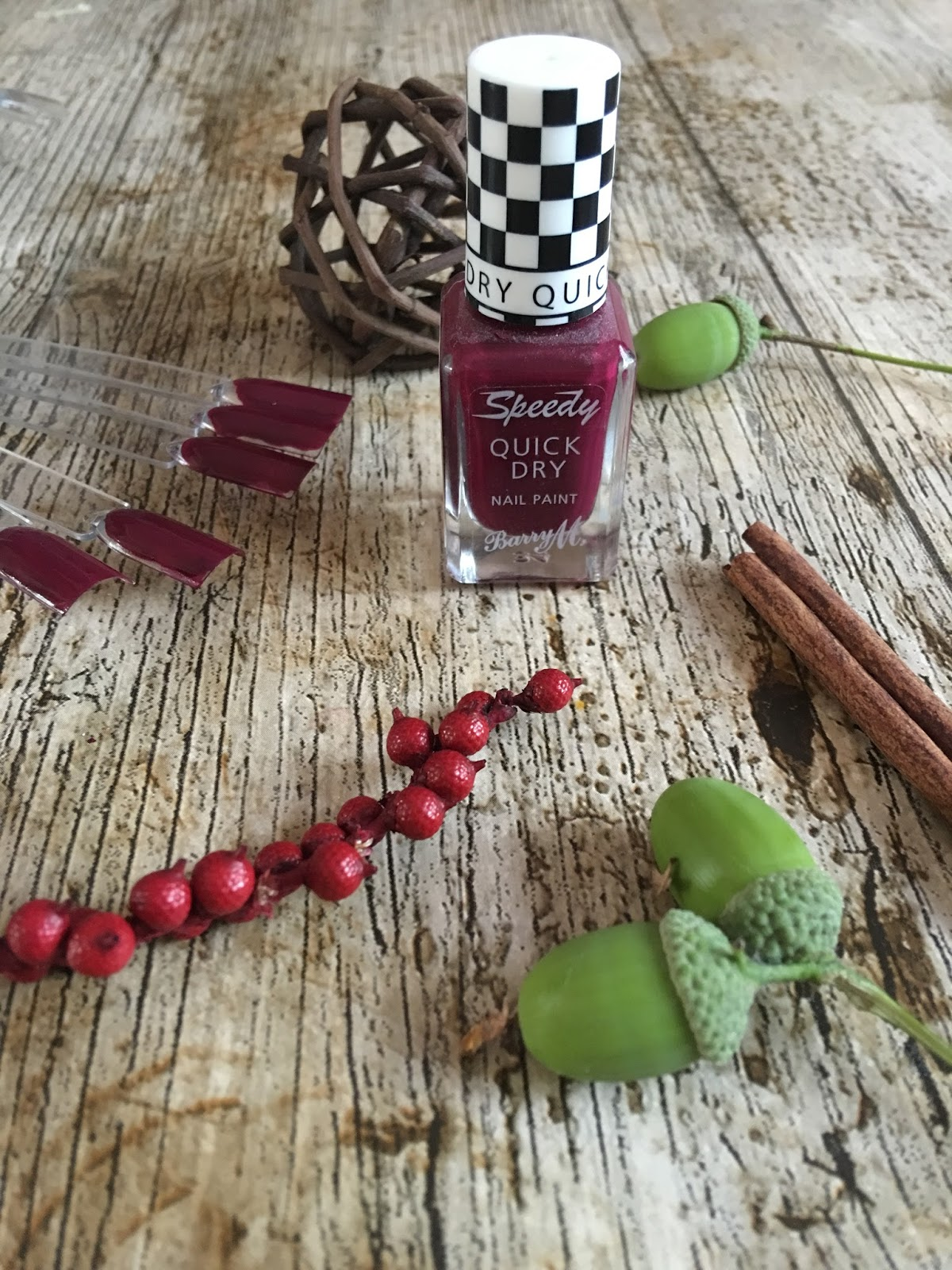 Barry M sprint finish review
