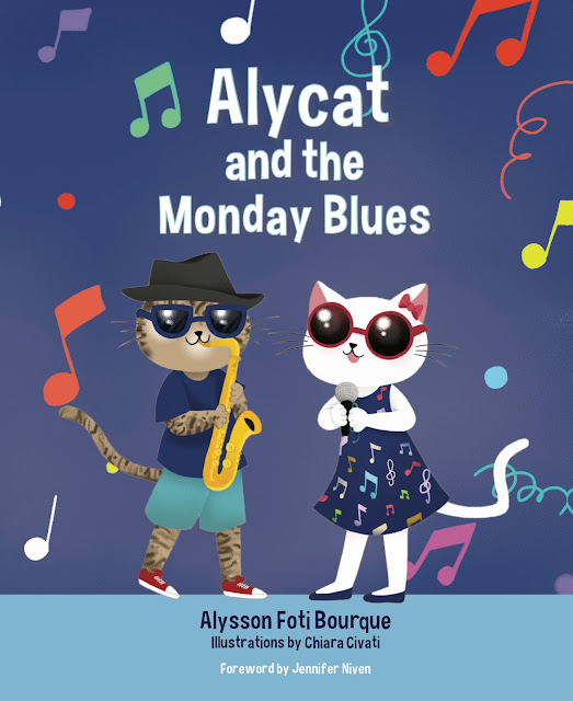 Alycat and the Monday Blues by Alysson Foti Bourque (Review and Giveaway!)