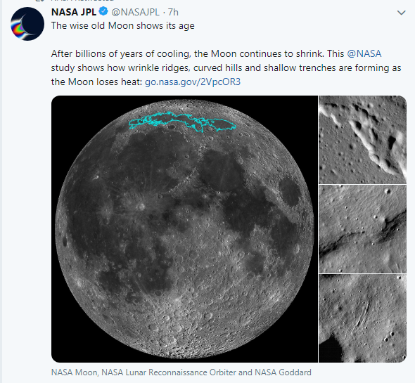 moon,shrinking,NASA,earthquakes,space,नासा के मुताबिक चाँद लगातार सिकुड़ रहा है आखिर क्यों,world,america ,US ASTRONOMY MOON, NASA, Lunar Reconnaissance Orbiter, LRO, lunar basin Mare Frigoris, Moons north pole, tectonic plates, tectonic activity, Apollo astronauts, moonquakes, Apollo missions, Nicholas Schmerr, moon steadily shrinking, the moon  findings, american space agency nasa, quack  on moon, nasa report  about moonquack, लगातार सिकुड़ रहा चंद्रमा,News,International News,