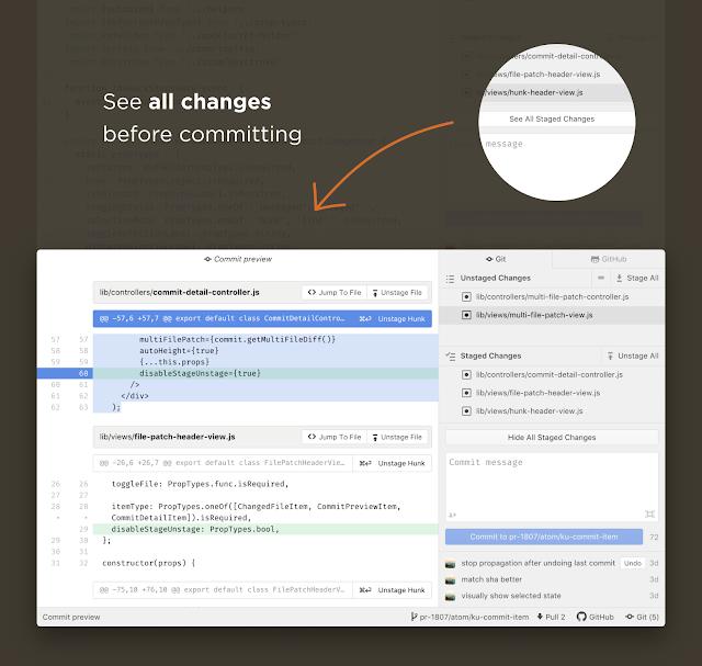 Atom 1.34 | Aplikasi Terbaik untuk Koding CSS HTML PHP JAVA