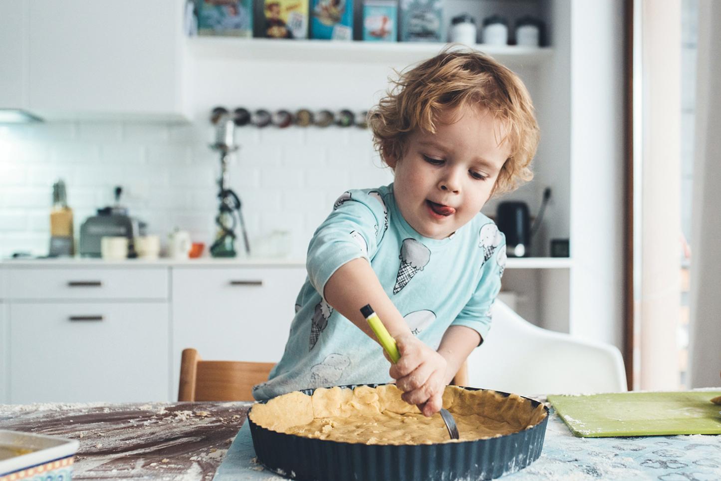 Gotowanie z Szymkiem - sesja dla Ładne Bebe