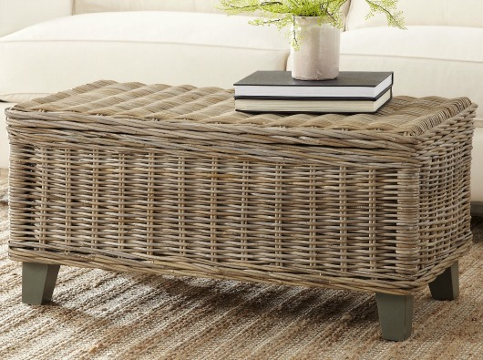 Perfect Rattan Storage Coffee Table