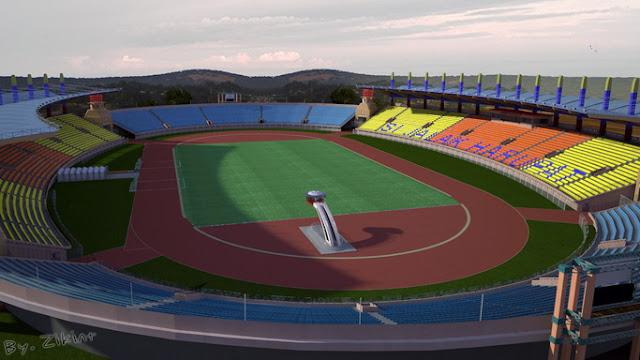 PES 2017 Si Jalak Harupat & Galuh Ciamis Stadium by Zikint