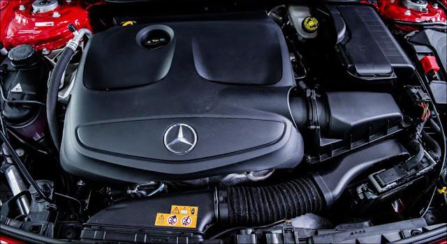 Mercedes A200 2019 trang bị động cơ mạnh mẽ