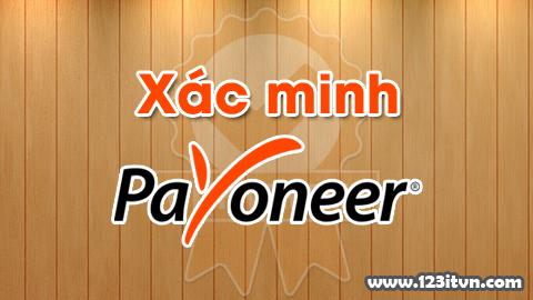 Xác minh tài khoản Payoneer