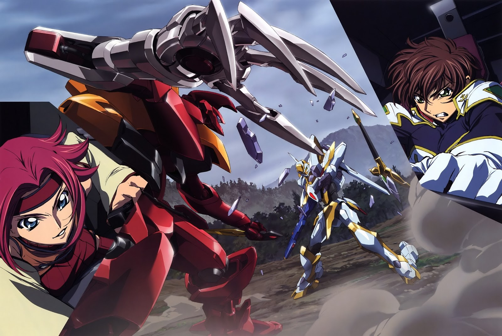 anime action mecha jadul