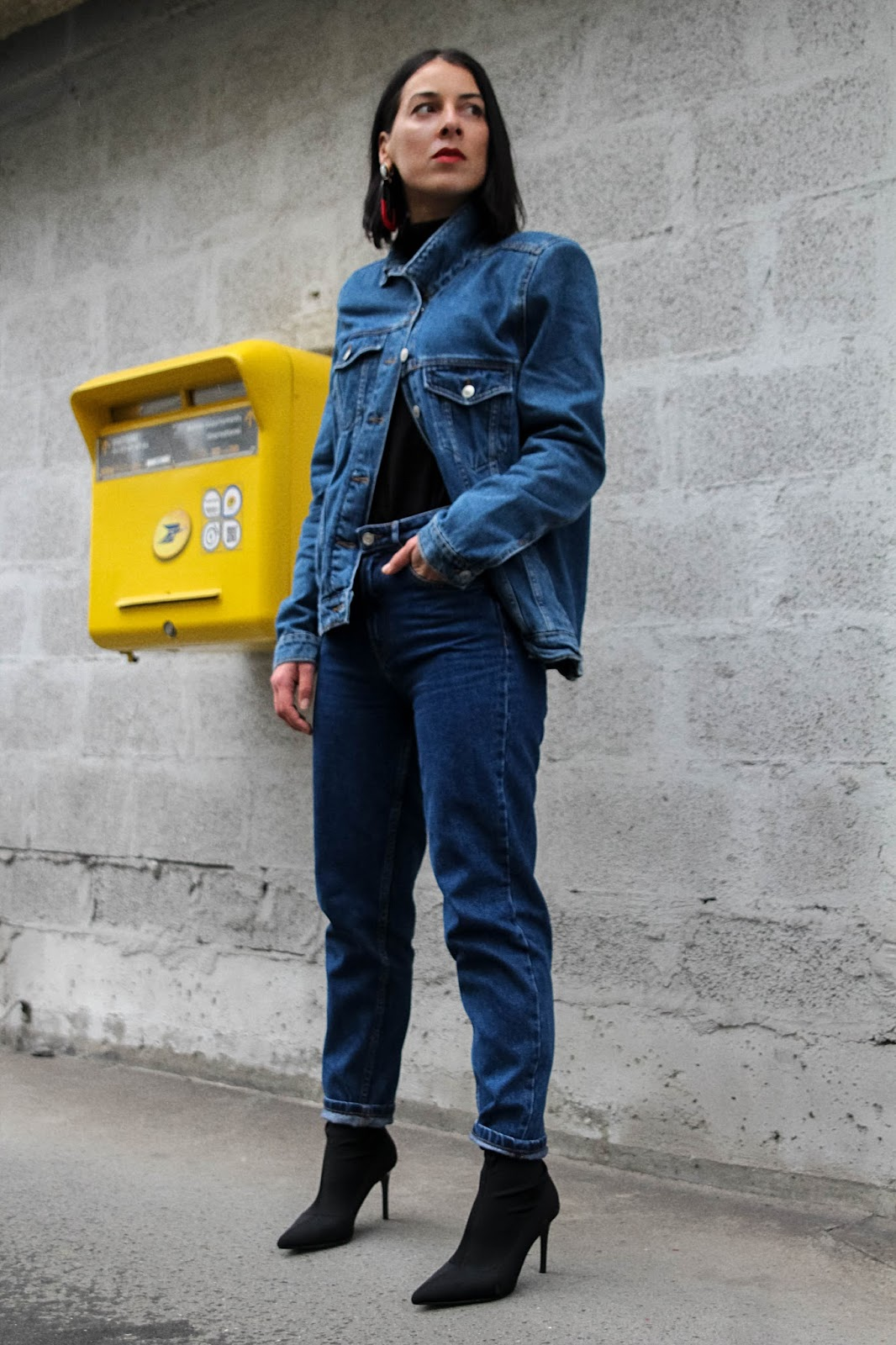 Denim total look , printemps 2018 , idée de look