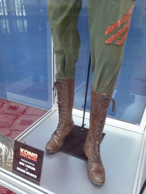 Mason Weaver Kong Skull Island costume boots
