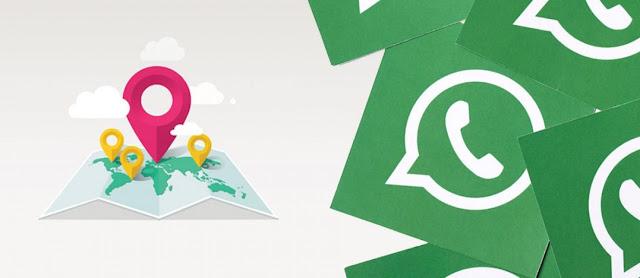 Cara Mengetahui Lokasi Orang Lain Via Whatsapp