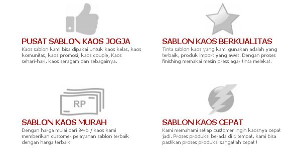 Bikin Kaos di Jogja Hanya di isosablon.com