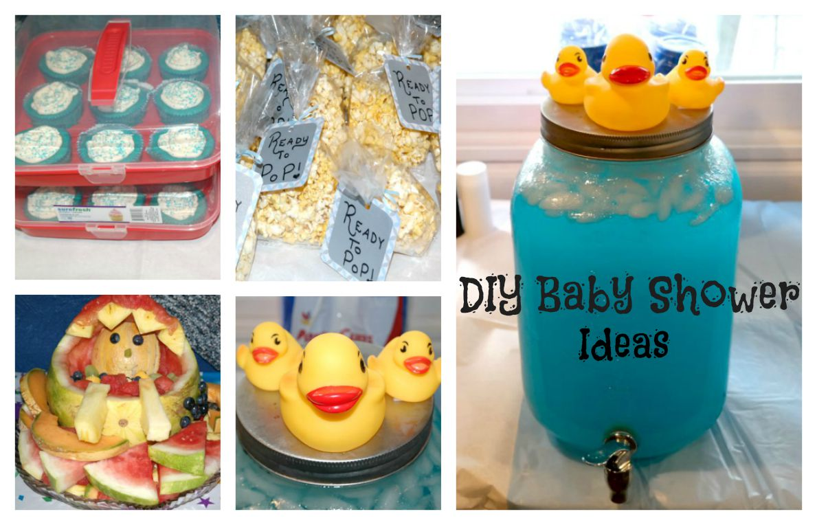 Passionate About Crafting : DIY Baby Boy Baby Shower Ideas