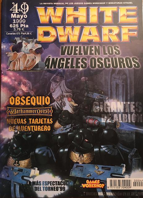 White Dwarf #49 edición española 1999