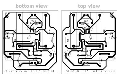 Low Pass Filter PCB Design
