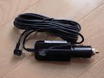 yupiteru DRY-WiFi40cドライブレコーダー付属のシガーソケット電源コード
