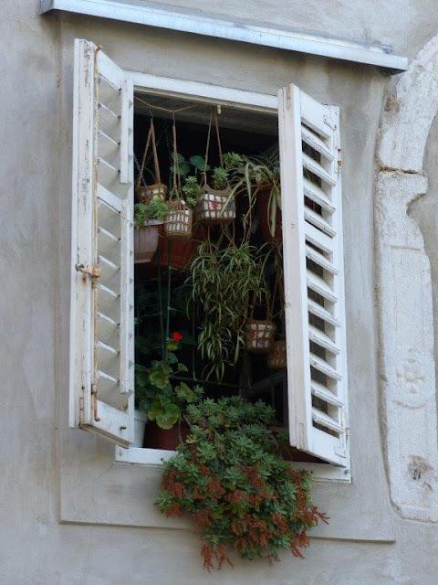 Kroatien Campingurlaub Rundreise Insel Krk Gassen Stadt Innenstadt