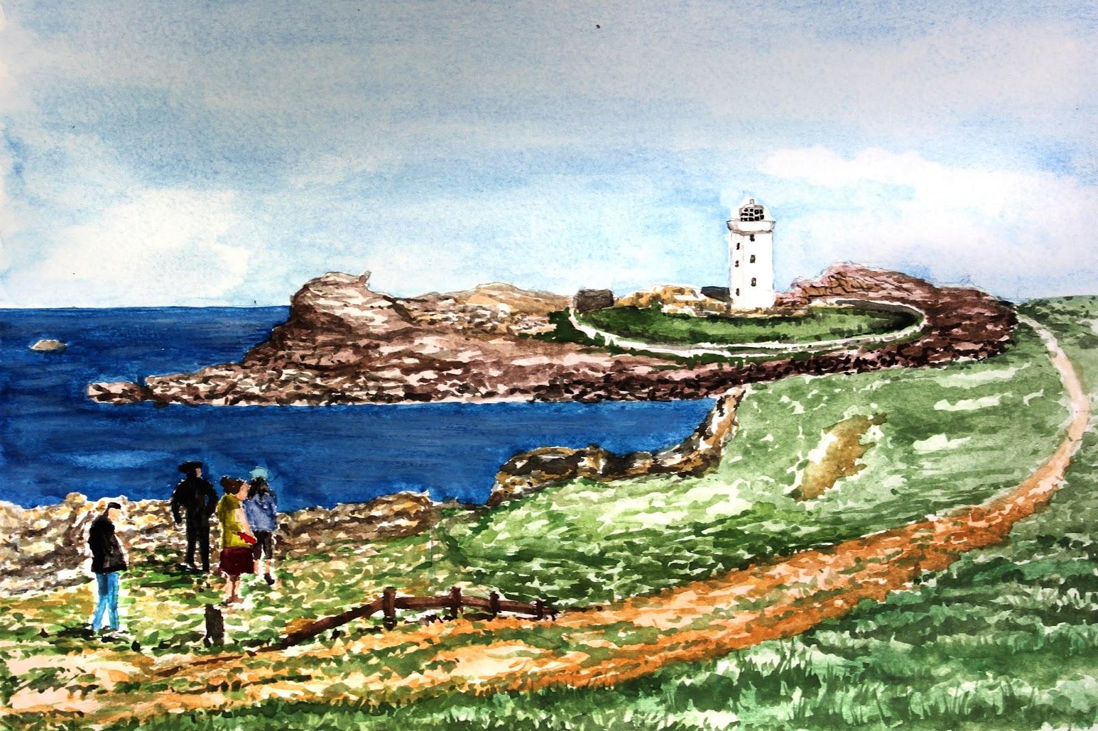 Joel Ramsay Art Tuition Watercolour Painting