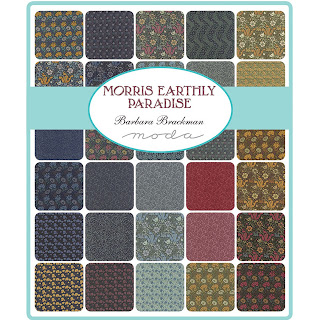 Moda Morris Earthly Paradise Fabric by Barbara Brackman for Moda Fabrics