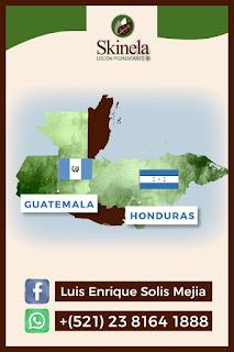 Skinela en Guatemala y Honduras