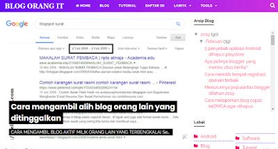 Daftar Gadget Widget yang memberatkan loading blog