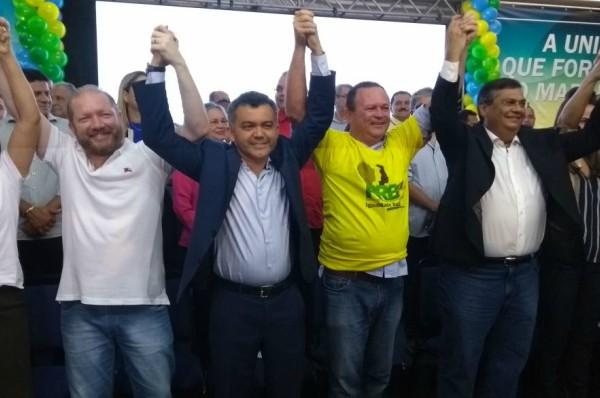 Em grande ato político, Carlos Brandão, vice-governador do Maranhão chega ao PRB-MA