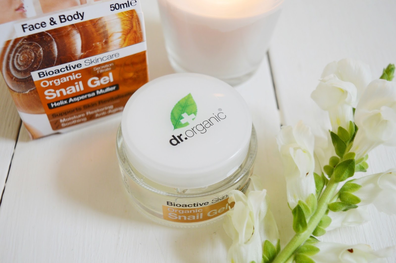 Dr Organic Snail Gel review, beauty bloggers, UK beauty blog, FashionFake blog