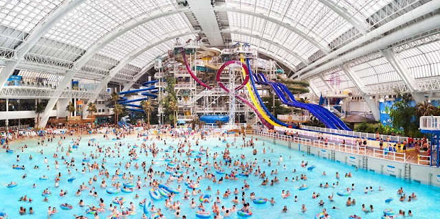 World Waterpark em Edmonton